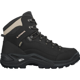 Lowa Renegade GTX Middelhoge Schoenen Heren, black/pebble